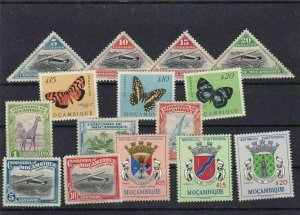 MOZAMBIQUE  MOUNTED MINT OR USED STAMPS ON  STOCK CARD  REF R869