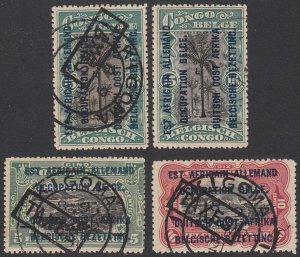 German East Africa N17-N19 Used Short Set CV $1.40