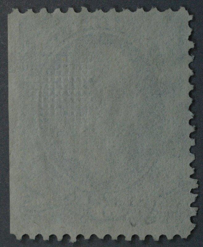 United States #136A 3 Cent Washington Grill 8.5 x 10 Geometric Cancel Used