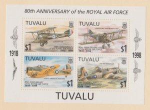 Tuvalu Scott #767 Stamps - Mint NH Souvenir Sheet