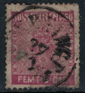 Sweden #12  faults, but nice filler  CV $110.00
