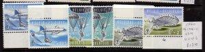 Belgium 1960 Sc B663-68 set of 6 MNH