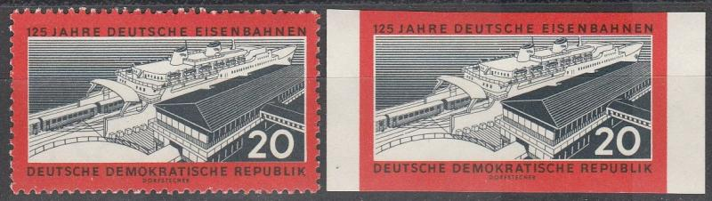 DDR #530 MNH Perf & Imperf CV $3.75  (S1948)