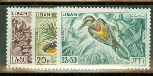 P: Lebanon 434-9 mint CV $78; scan shows only a few