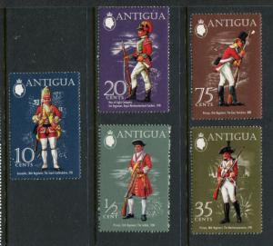 Antiqua #274-8 Mint