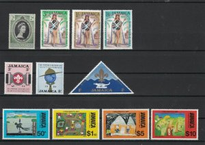 Jamaica Mint Never Hinged Stamps ref 22057