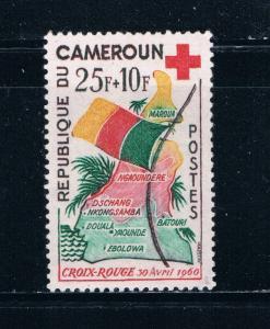 Cameroun B31 MNH Map and Flag 1961 (C0230)+