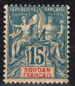 French Sudan #9  Unused  CV $8.00 (X2674)