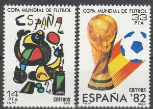 Spain #2280-1  MNH VF (V3164)