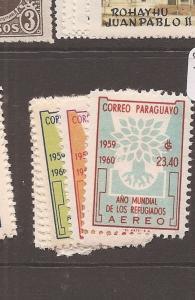 Paraguay A/M SC 560-4, C265-8 MNH (10cch)