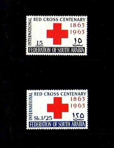 SOUTH ARABIA - 1963 - RED CROSS CENTENARY - MINT - MNH - SET!