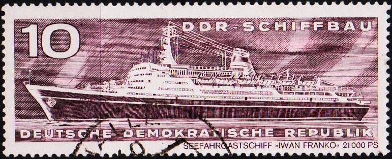 Germany(DDR). 1971 10pf S.G.E1413 Fine Used