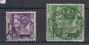 Netherlands 1940 35c & 1.75 gld VFU J3443