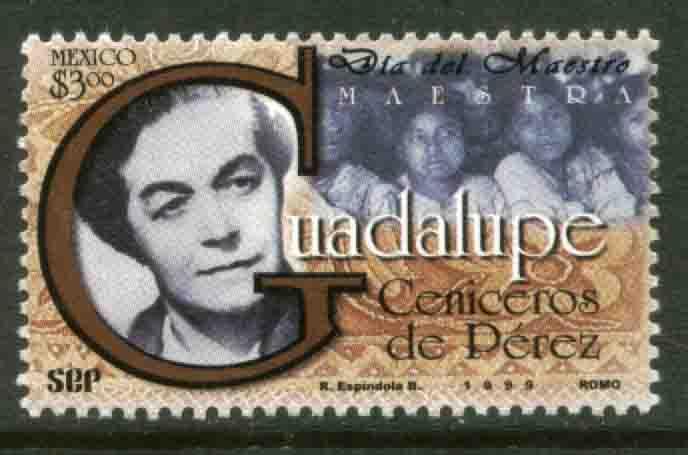MEXICO 2145 Teachers' Day MNH