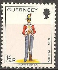 Guernsey #95 Mint Never Hinged VF (B402)