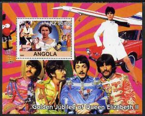 Angola 2002 Golden Jubilee of Queen Elizabeth II #1 perf ...