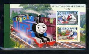 Isle of Man Scott 661b Mint NH booklet (Catalog Value $16.00)