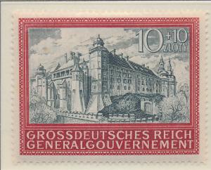 Poland, German Occupation Stamp Scott #NB41, Mint Hinged - Free U.S. Shipping...