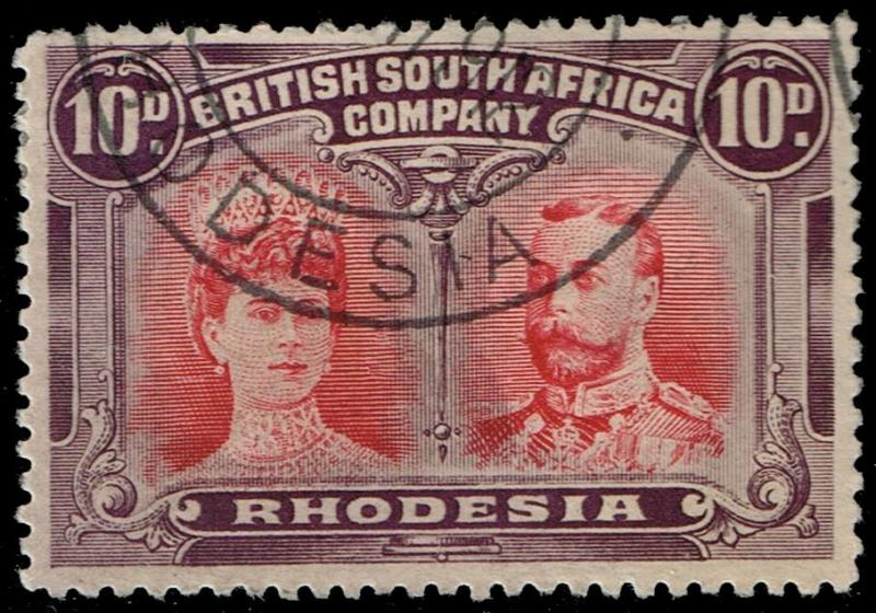 Rhodesia #110 Queen Mary and King George V; Used (55.00)
