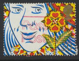 Great Britain SG 1491  Used   - Smiles Greeting  Booklet stamp