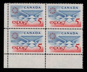CANADA - 5c Expo67 - Mint Block NH 1967 SC469