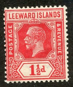 Leeward Isl, Scott #65 Unused, Hinged
