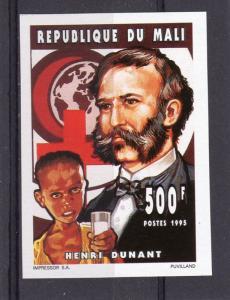 Mali 1994 Sc# 689 Henri Dunant/Red Cross Set (1) Imerforated  MNH VF