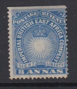 BRITISH EAST AFRICA, Scott 23, MNG (no gum)