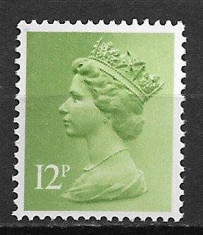 1980 Great Britain Machins #MH78 Queen Elizabeth 12p MNH