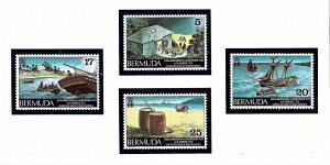 Bermuda 329-32 MNH 1975 American War of Independence