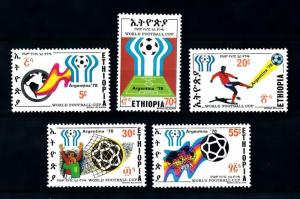 [90228] Ethiopia 1978 World Cup Football Soccer Argentina  MNH