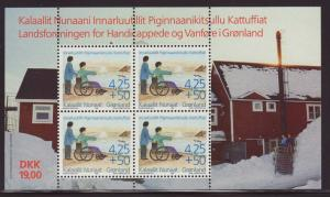 1996 Greenland Handicapped & Disabled MS Unused