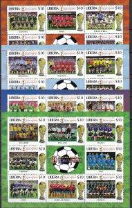Liberia World Cup 2002 MNH (Z5419L)