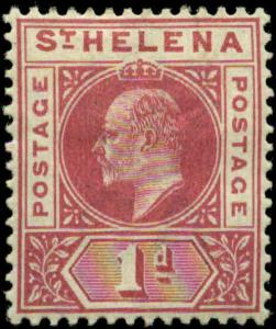 Saint Helena Scott #49 Mint