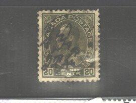 CANADA - NOVA SCOTIA  1860 - 1863 #8 MH FULL GUM