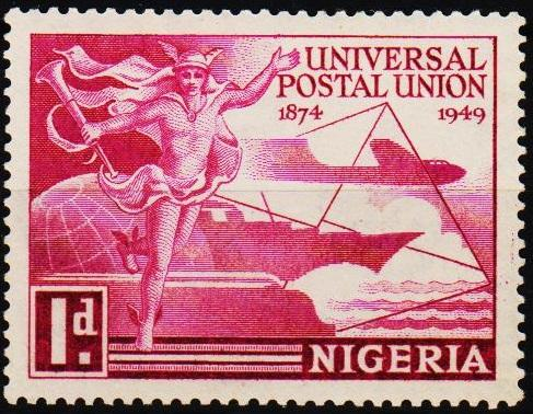 Nigeria. 1949 1d S.G.64 Mounted Mint