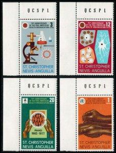 Saint Kitts-Nevis Scott 342-345 Mint never hinged.
