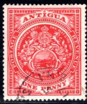 Antigua #32, Used, CV $2.75   ........   0260028