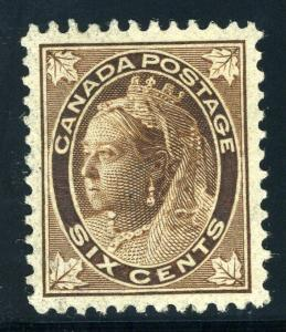 CANADA SCOTT# 71 SG# 147 MINT LIGHTLY HINGED AS SHOWN