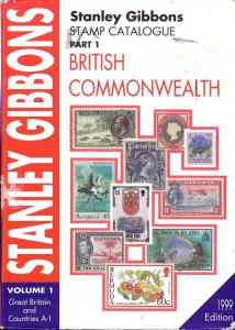 Stanley Gibbons Stamp Catalogue, Part 1, Vol. 1,  British...
