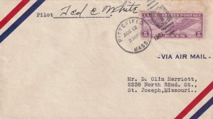 1931, Pittsfield, MA to St. Joseph, MO, See Remark (41926)