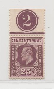 Malaya Straits Settlements - 1906 - SG 161 - MNH