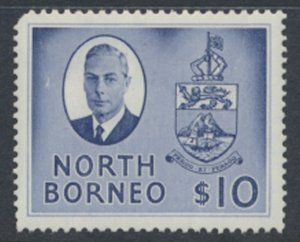 North Borneo  SG 370 SC# 258 MH  spacefiller   see scans  and details