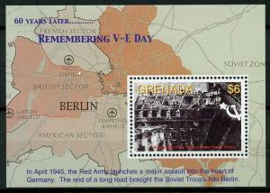 Grenada 2005 MNH WWII WW2 VE Day End World War II 1v S/S Fall Berlin Stamps