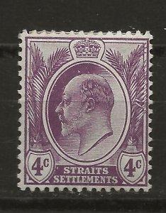 Straits Settlements 112 SG 155 MH F/VF 1908 SCV $6.50 (jr)