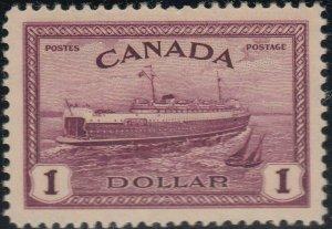 CANADA 245 VF NH (32520a)