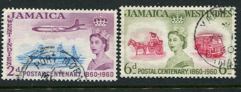 Jamaica #178-9 Used
