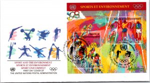 United Nations Geneva, Worldwide First Day Cover, Olympics