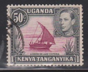 KENYA, UGANDA & TANGANYIKA Scott # 79 Used