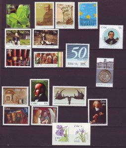 J24814 JLstamps 2007 ireland sets & sets of 1 mnh #1698-up